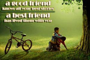 Persahabatan Tanpa Syarat
